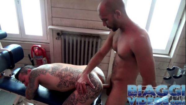 BV – Gym Paris Fuck, Part 1 – Antonio Biaggi & Bastian Bonaxe