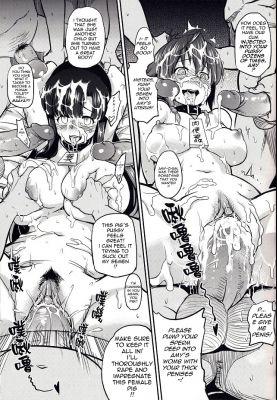 [Doujinshi] (FF22) [Denmoe (Try)] Prostitution Vessel – Fallen Imprisonment (Suisei no Gargantia) [English]