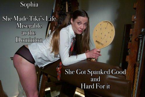 sophia real main - Dallas Spanks Hard – MP4/SD – Sophia the Switch - Whose the Real Boss
