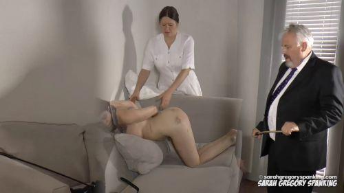 snapshot20180929110631 - Sarah Gregory Spanking – MP4/Full HD – Ava Nyx, Michael Wackford, Miss Bernadette - Ava's Asylum Punishment