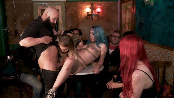 Spanish Punk Princess Liz Rainbow tormented by Cadence Lux