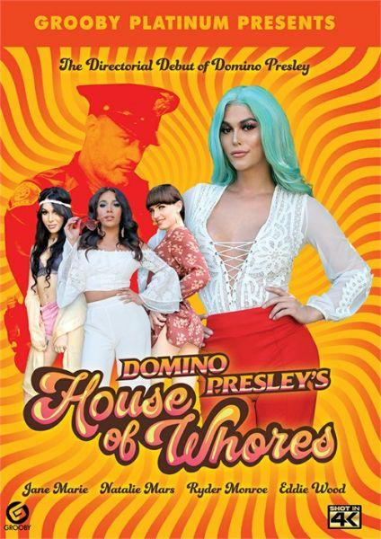 Natalie Mars, Jane Marie, Ryder Monroe, Domino Presley - Domino Presley's House Of Whores (Split Scene) (Grooby/FullHD/2018)
