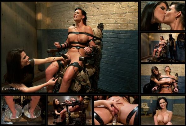 Bobbi Starr and Phoenix Marie - Phoenix Marie Suffers to an Electric Chair