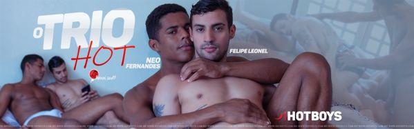 HB – O Trio HOT 8 –  Neo Fernandes, Henri Scott & Felipe Leonel