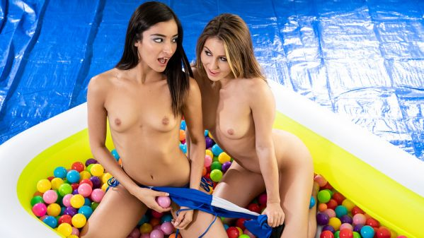 Emily Willis and Paige Owens in Ballin' Booties