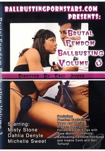 [Ballbusting Pornstars] Brutal Femdom Ballbusting #3 (2009) [Misty Stone]