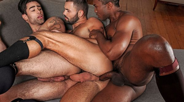 LE – Sean Xavier And Jeffrey Lloyd Share Lucas Leons Ass