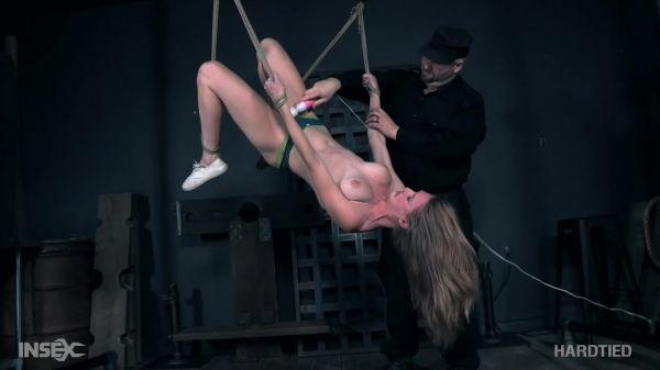 Ashley Lane - Ashely endures painful predicament bondage