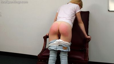 RealSpankings – Belt Test : Alice (Part 1 of 2)