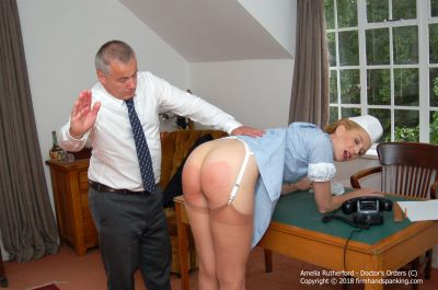 FirmHandSpanking - Doctor's Orders - C - Amelia Rutherford