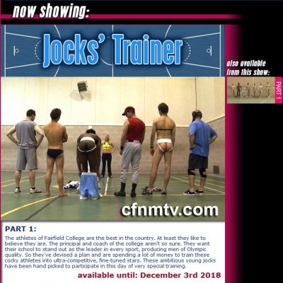 CfnmTV – Jocks Trainer (part 1)