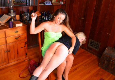 MySpankingRoommate – Episode 208: Madison Visits Officer Stevie