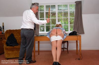 FirmHandSpanking - Doctor's Orders - D - Amelia Rutherford