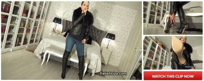 FetishLiza – Worship My Casadei boots