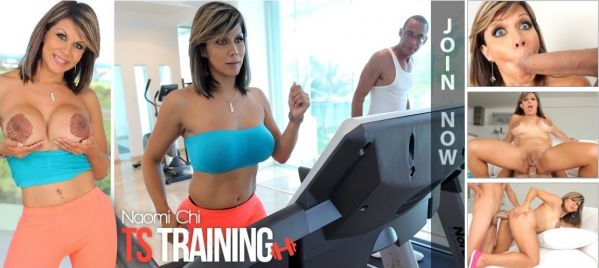 Naomi Chi - TS Training fucking! (HD 720p)