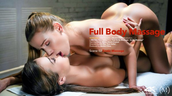Alexis Crystal and Cindy Shine - Full Body Massage Episode 2