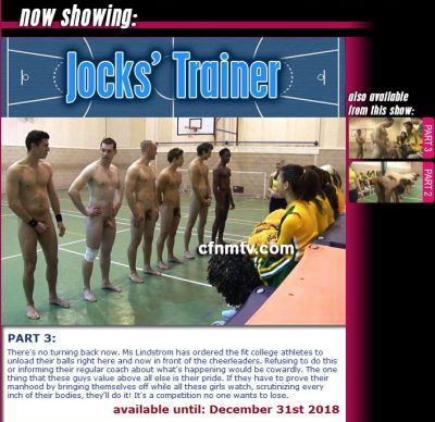 CfnmTV – Jocks Trainer Part 3