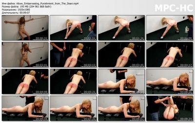 RealSpankingsInstitute - Alice's Embarrassing Punishment from The Dean