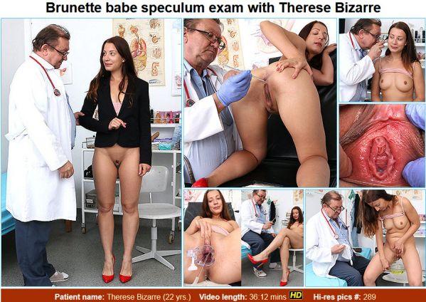 Therese Bizarre 22 years girls gyno exam