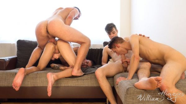 WH – Wank Party #102, Part 2 RAW