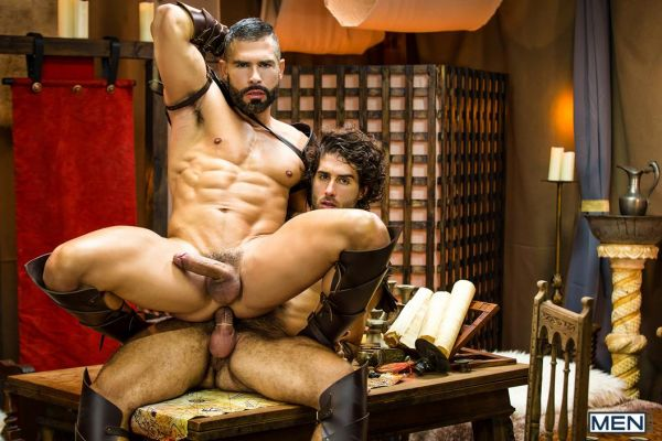 MEN – Sacred Band Of Thebes Part 3 – D.O. & Diego Sans