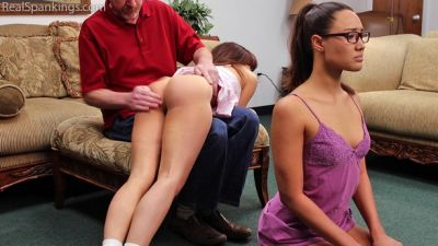 RealSpankings – Spanked in Pajamas (Part 2 of 2)