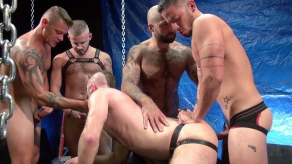 RFC – Aiden Hart Gang Bang (Part 1) (Bareback)