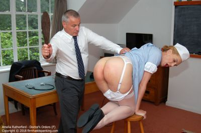 FirmHandSpanking – Doctor's Orders – F – Amelia Rutherford