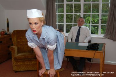 FirmHandSpanking - Doctor's Orders - F - Amelia Rutherford