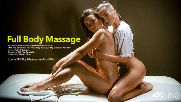 Petra F and Sabrisse -  Full Body Massage Episode 3