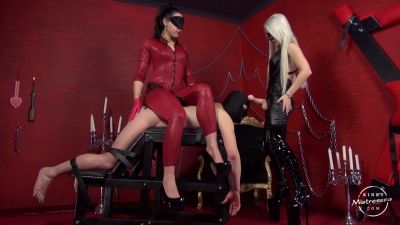 KinkyMistresses – Fucked By Sarah Dom And Gaia – Mistress Sarah Dom,