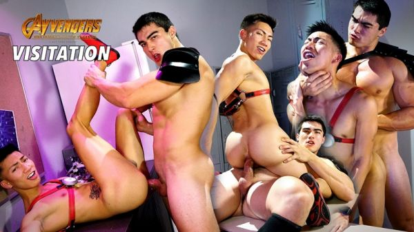PF – GayVengers Episode 5 – Visitation – David Ace & Axel Kane