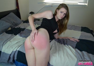 SpankedCallGirls – Ashley Lane Spanked by Double Dan