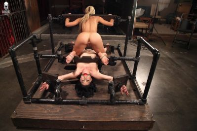 Dual Domination In The Dungeon – Cherie Deville & Kymberly Jane