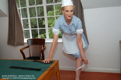 FirmHandSpanking - Doctor's Orders - G - Amelia Rutherford