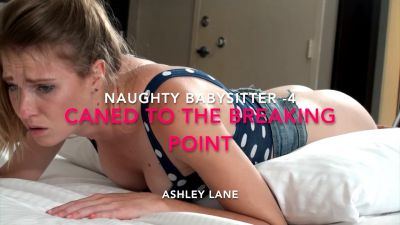 Naughty Babysitter Caned to the Breaking Point – Ashley Lane 4