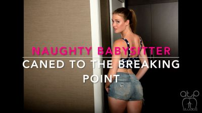 Naughty Babysitter Caned to the Breaking Point - Ashley Lane 4