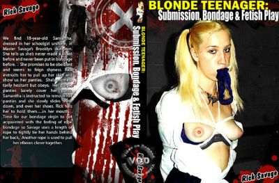 Blonde Teenager: Submission, Bondage & Fetish Play