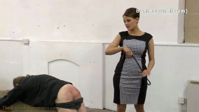 TheEnglishGoverness – Governess Granger Old Fashioned School Hall Thrashing Part Two