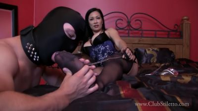 Clubstiletto – Sheer Stocking Bliss – Miss Jasmine