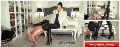 FetishLiza – Luxury boot licking duties