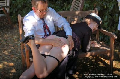 FirmHandSpanking – Marks Out of Ten – X – Helen Stephens