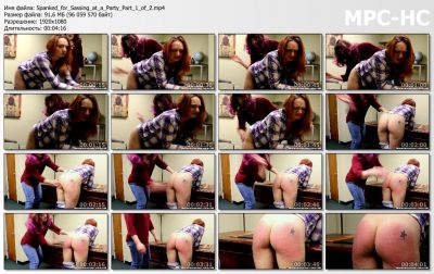 RealSpankings - Spanked for Sassing at a Party (Part 1 of 2)