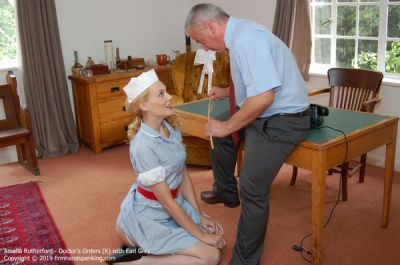FirmHandSpanking - Doctor's Orders - K - Amelia Rutherford