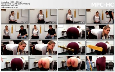 RealSpankingsNetwork - Cara: Paddled By The Dean