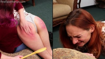RealSpankings – Spanked for Sassing at a Party (Part 2 of 2)