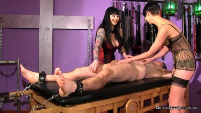 MistressMayaSinstress – Vera and Maya Tickle Attack