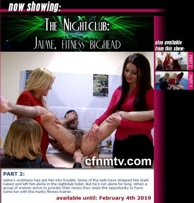 CfnmTV – Jaime, fitness bighead part 2