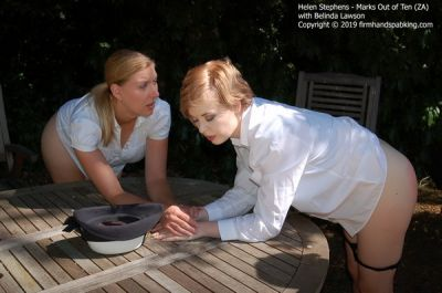 FirmHandSpanking – Marks Out of Ten – ZA – Helen Stephens