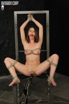 PerfectSlave - Chair Tied and Vibed - Jasmine Delatori